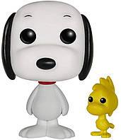 Фигурка Funko Pop Фанко Поп Арахис Шаппи и Вудсток Peanuts Snoopy Woodstock 10 см Cartoon P SW 49 (CZ00Cartoon P SW 49)