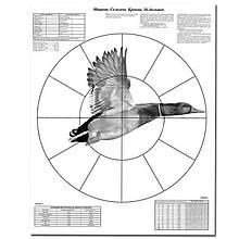 Мішень Пристрілювальні 16 - дольная Качка 830 x 1070 мм