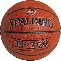 Мяч баскетбольный Spalding TF-750 In-Outdoor размер 7 композитная кожа для улицы-зала, фото 1