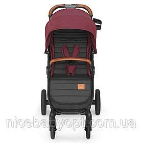 Прогулочная коляска Kinderkraft Grande LX Burgundy