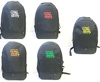 Спортивные рюкзаки Grand Thret Auto 2отд. текстиль (В ЧЕРНОМ)28x38см