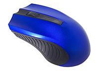 Мышка беспроводная оптическая Zeus M-220, синяя
