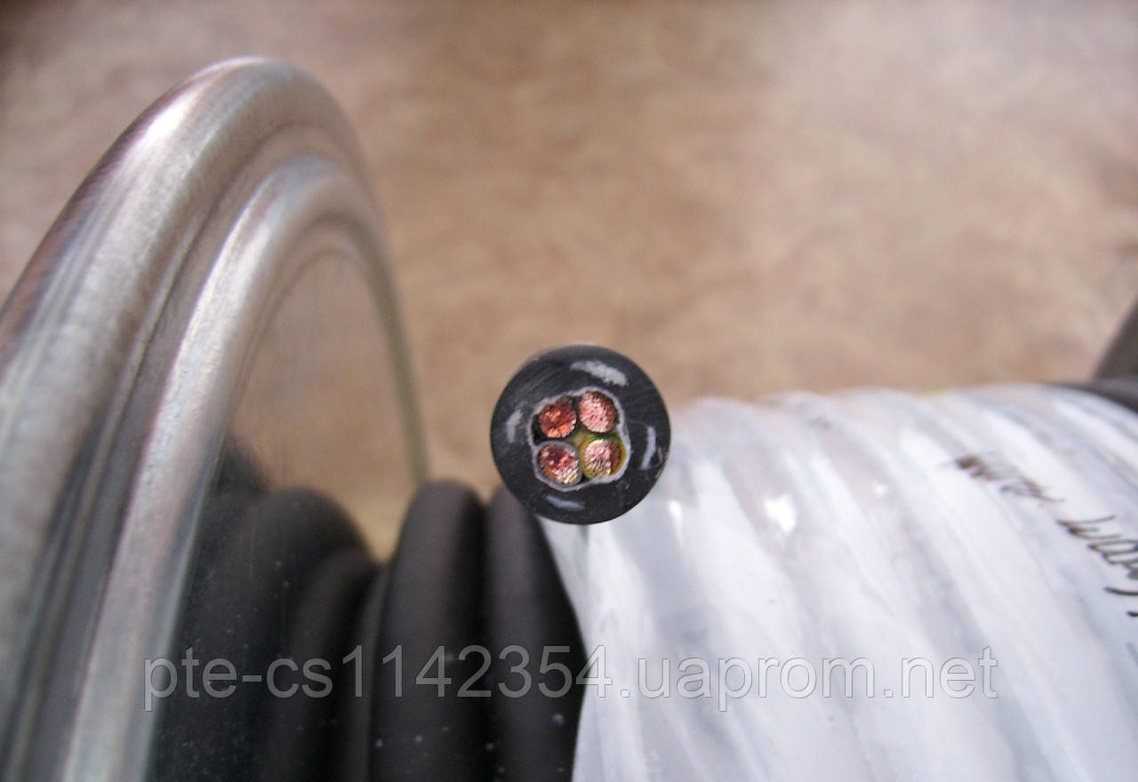 Барабанный кабель 4х6.0