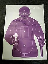 Мішень 480 х 660 мм Злочинець №1