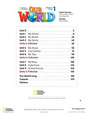 Учебник Our World 1 Student's Book with CD-ROM / National Geographic Learning, фото 2
