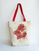 Пошита сумка для вишивки Акварель