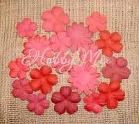 Набор цветов Dovecraft Paper Blossoms - Hot Pink