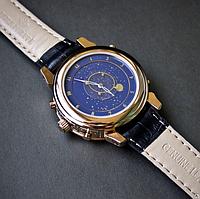 Мужские часы Patek Philippe Sky Moon Tourbillon Gold Кварцевые патек