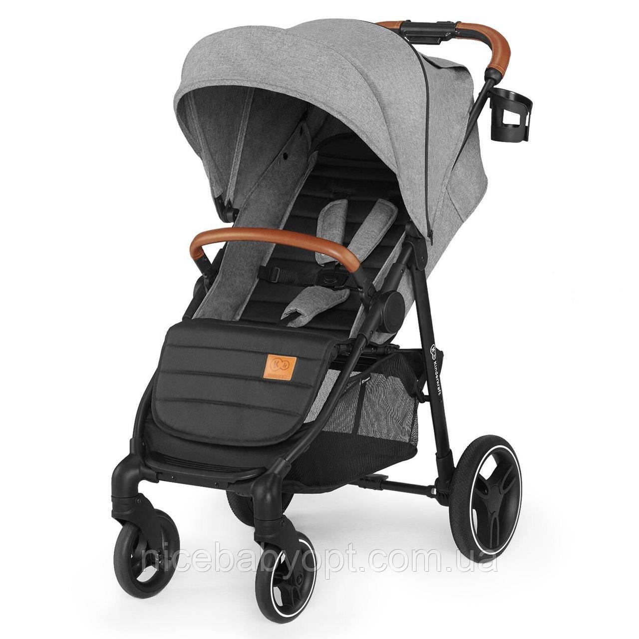 Прогулянкова коляска Kinderkraft Grande Gray 2020