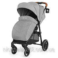 Прогулянкова коляска Kinderkraft Grande Gray 2020, фото 2