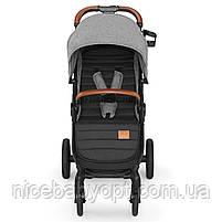 Прогулянкова коляска Kinderkraft Grande Gray 2020, фото 3