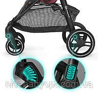 Прогулянкова коляска Kinderkraft Grande Gray 2020, фото 4
