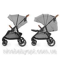 Прогулянкова коляска Kinderkraft Grande Gray 2020, фото 6