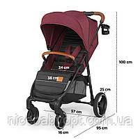 Прогулянкова коляска Kinderkraft Grande Gray 2020, фото 10