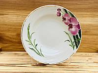 Тарелка 200 мм глубокая голубка Бамбуковая орхидея 5С0845Ф34 Добруш, фото 1