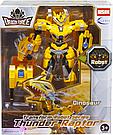 """Робот трансформер """"Dragon force"""" (Желтый) трансформируется в динозавра    , фото 3"""