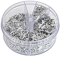 Набор металлических наконечников на провода 1900 шт. ASTA A-TC512, фото 1