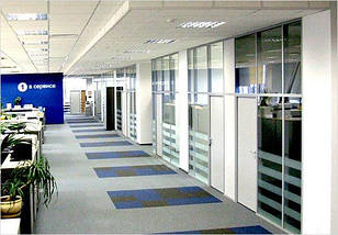 Алюминиевые офисные перегородки NAYADA ORMAN LUX, фото 3