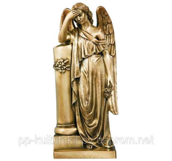 Скульптура скорботного ангела на могилу  7277/80