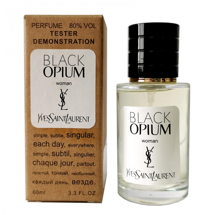 Yves Saint Laurent Black Opium TESTER LUX, женский, 60 мл