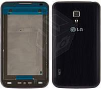 Корпус для LG Optimus L7 II P715, синий, оригинал