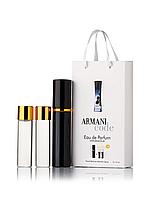 Мини-парфюм с феромонами женский GIORGIO ARMANI Armani Code Women 3х15 мл