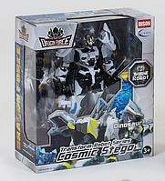 """Робот-трансформер """"Dragon force"""" (Белый) трансформируется в динозавра  scn"""