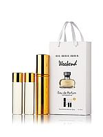 Мини-парфюм с феромонами женский BURBERRY Weekend 3х15 мл