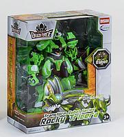 """Робот трансформер """"Dragon force"""" (Зеленый) трансформируется в динозавра"""