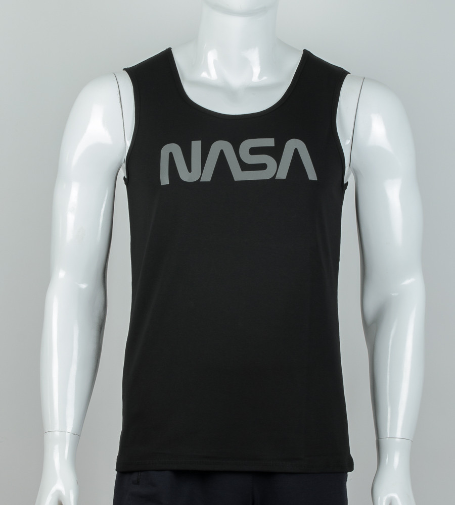 -Р- Майка мужская NASA Черный (0915мм), M