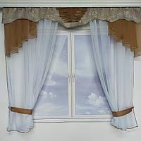 Занавеска на кухонное окно №314, фото 1