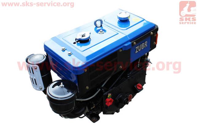 Двигатель мотоблочный в сборе 8л.с. 180NDL ZUBR длинная крышка, фото 2