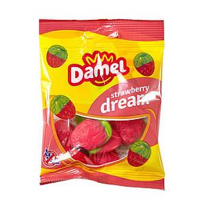 Жуйки Damel Strawberries полунички 70 г 36 шт/ящ 66286