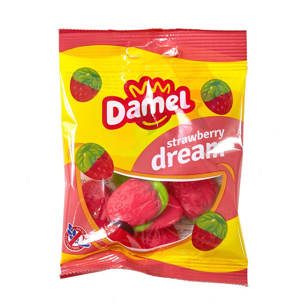 Жуйки Damel Strawberries полунички 70 г 18 шт/ящ 66286