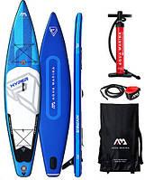 """Сапборд Aqua Marina Hyper 12'6"""" - надувная доска для САП серфинга, sup board"""