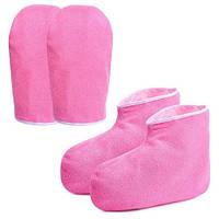 Набор для парафинотерапии перчатки, носки.