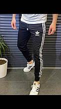 Мужские Спортивные Штаны в стиле Adidas черные молодежные Турция