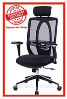 Офисное компьютерное кресло Barsky Black Сhrom BB-01