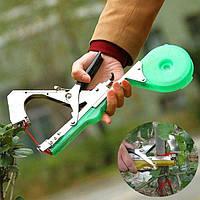 Степлер для подвязки растений для обвязки винограда помидоров огурцов деревьев цветов Tape Tool 175497