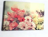 Картина на холсте цветы