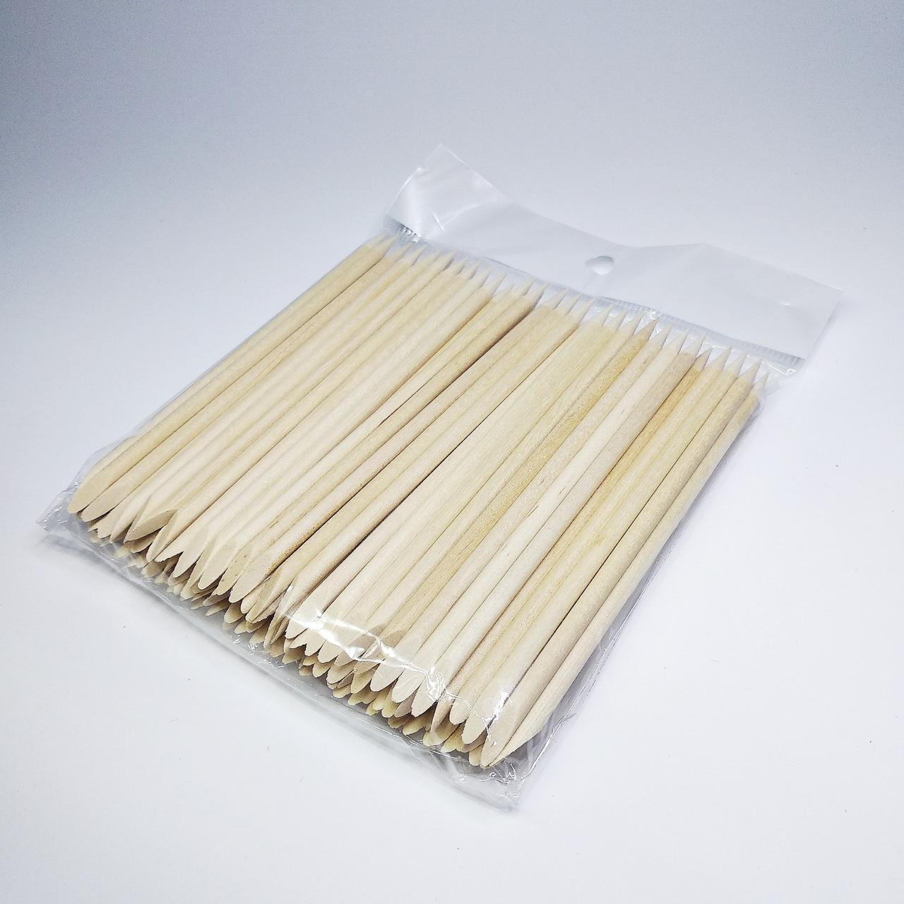 Апельсиновые палочки для маникюра 11 см 100 шт