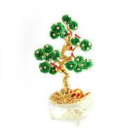 Талисман символ Дерево исполнения желаний, с мангустом и птицами