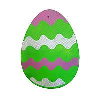 """Фигура из пенополистирола """"Пасхальное яйцо"""" размером 350х450х50мм. Декор для фотозоны."""