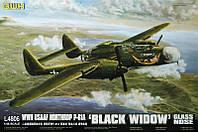 """Пластиковая сборная модель P-61A """"Black Widow"""" (glass nose) 1/48"""