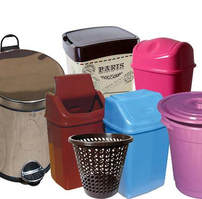 Відра для сміття пластикові