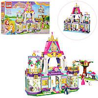 """Детский конструктор для девочек """"Замок принцессы"""", большой набор 628 деталей"""