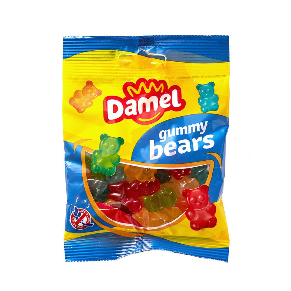 Жуйки Damel Gummy bears ведмедики 70 г 36 шт/ящ 66287