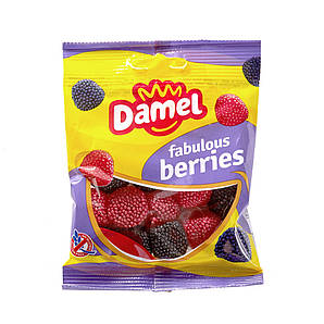 Жуйки Damel Berries ягоди 70 р, 36 шт/ящ 66291