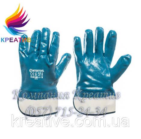 Перчатки х/б+нитрил (от 50 шт.)