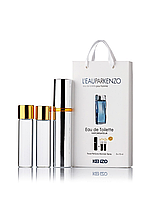Міні-парфуми L'eau Par Kenzo для чоловіків 3х15 мл